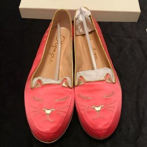 Charlotte Olympia Shoes - 😍Charlotte Olympia Pink Cat Nap Slipper Set😍