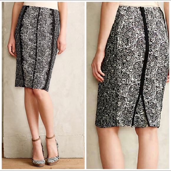 fb7922f02ada7b Anthropologie Skirts | Nwt Byron Lars Sombra Pencil Skirt | Poshmark