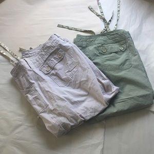 Venezia Pants - LAST CHANCE NWOT Plus Cargo Style Pant Bundle