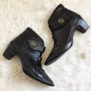Josef Seibel Shoes - Josef Seibel Calla 02 Leather Ankle Boot Size 39