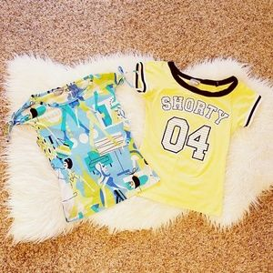 Rave Tops - Add-on items! 2 juniors tops size S