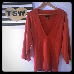 New York & Company Sweaters - NEW YORK & CO. SOFT CAREER SWEATER XS BURNED ORANG