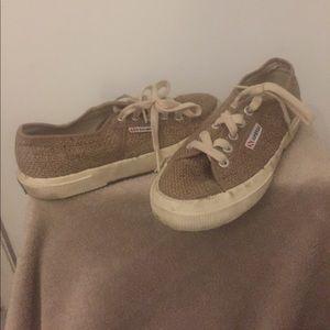 Superga Shoes - SUPERGA Jutau Jute Sneakers in Natural- Size 35