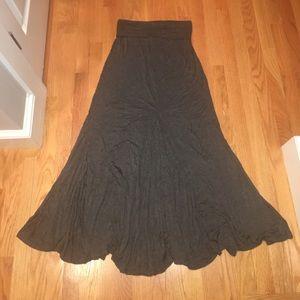 Elan Dresses & Skirts - Grey jersey Maxi skirt