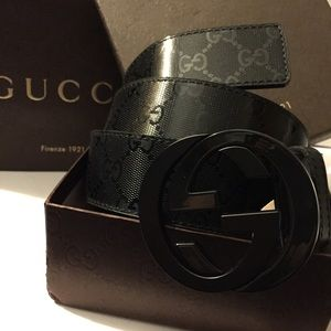 Gucci Other - NWT Gucci Imprime Belt
