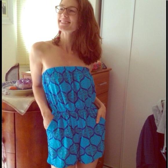Urban Outfitters Dresses & Skirts - GIFTED Paisley Rayon Romper Yogi Mandala