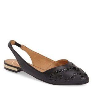 Jack Rogers Shoes - Jack Rogers black sling back flats
