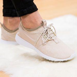 Nike Shoes - Nike Juvenate SE Oatmeal Sneakers