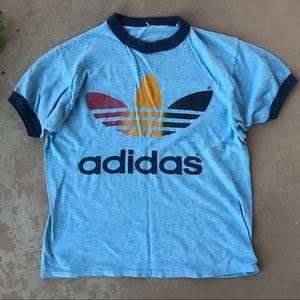 adidas shirt 80s
