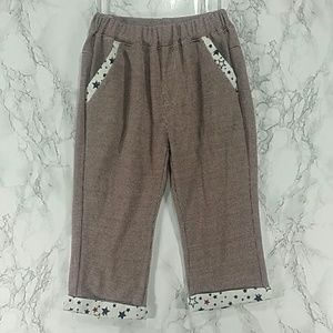 Other - Maroon and white crop pants. Kids