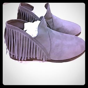 Other - ~*grey moccassin bootie*~