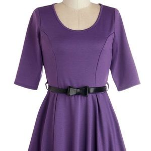 Modcloth abiding beauty a-line dress, nwot, xs