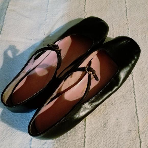 Capezio Leather Ballet Shoes