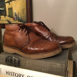 Red Wing Shoes Other - **REDUCED**Vintage RED WING Brown Leather Chukkas