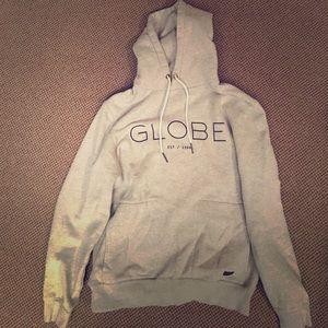 Globe Jackets & Blazers - Hooded sweatshirt