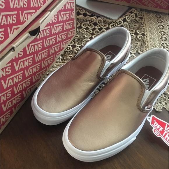 Vans Shoes | Rose Gold Final Price