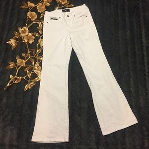lei Denim - LEI White Flared Leg Jeans Size 5