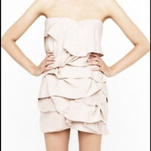camilla & marc Dresses & Skirts - Camilla & Marc- Elodie Silk Linen & Tulle Dress