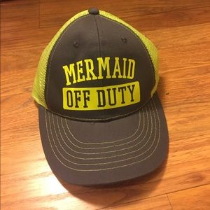 Mermaid Off Duty Baseball Hat - O/S