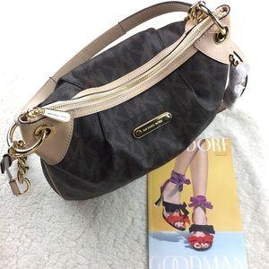 Michael Kors Handbags - Michael Kors Jet Set Brown Shoulder Bag Logo.