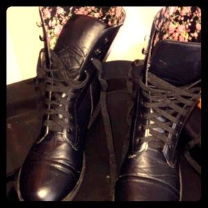 Hot Topic Shoes - Hot Topic Combat Boot