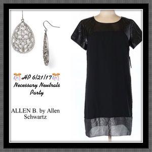 Allen B. By Allen Schwartz Dresses & Skirts - 🥂HP 6/21/17🥂 FINAL DROP NWT BLACK ALLEN B. DRESS