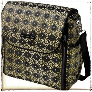 Petunia Pickle Bottom Handbags - 👶Petunia Pickle Bottom Yellow Roll Boxy Backpack