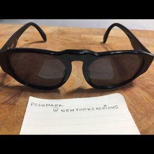CHANEL Accessories - Vintage 80's Chanel Black Sunglasses 🍍