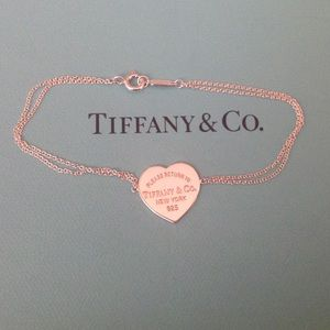 Tiffany & Co. Jewelry - Tiffany & Co. RTT Heart Tag Bracelet