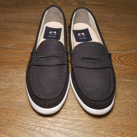 61 cole haan shoes cole haan black canvas