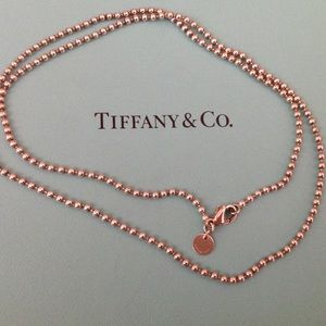 "Tiffany & Co. Jewelry - Tiffany & Co. 18"" Beaded Chain"