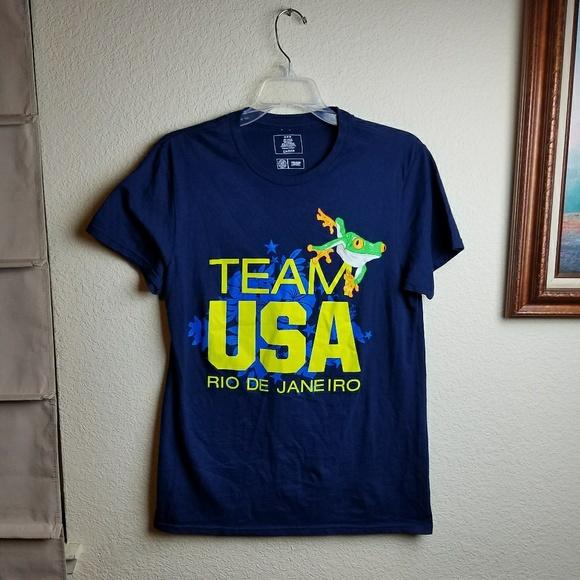 59a4769f1f Team USA Olympics Graphic T Shirt Rio De Janeiro
