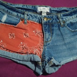 Forever21 Premium Denim Shorts