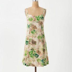 ANTHROPOLOGIE HD IN PARIS Silk Dress