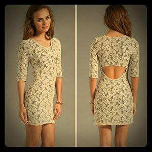 Lovers + Friends Dresses & Skirts - *Lovers + Friends Mini Dress w/Back Cut Out*