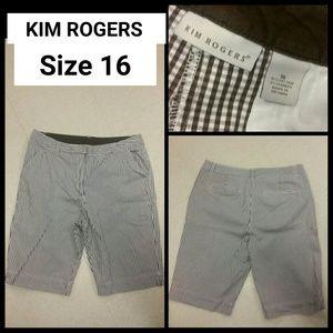 Kim Rogers Pants - SALE!! Pretty in Plaid! Kim Rogers Shorts!