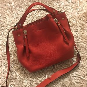 Burberry Handbags - Burberry Maidstone Satchell in Military red