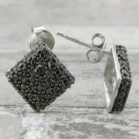 85% off Jewelry Final Sale Genuine black diamond earrings from K s clos