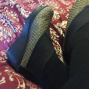 bernie mev. Shoes - Bernie Mev. Woven Wedge