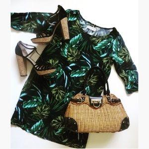 American Apparel Dresses & Skirts - American Apparel sz XS/S Jungle leaves print dress