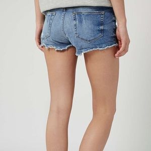 Topshop Pants - Topshop Moto Button Fly Denim Shorts