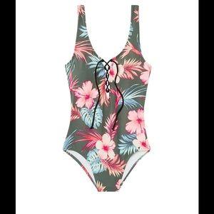 PINK Victoria's Secret Other - Victoria's Secret pink swim suit one-piece floral