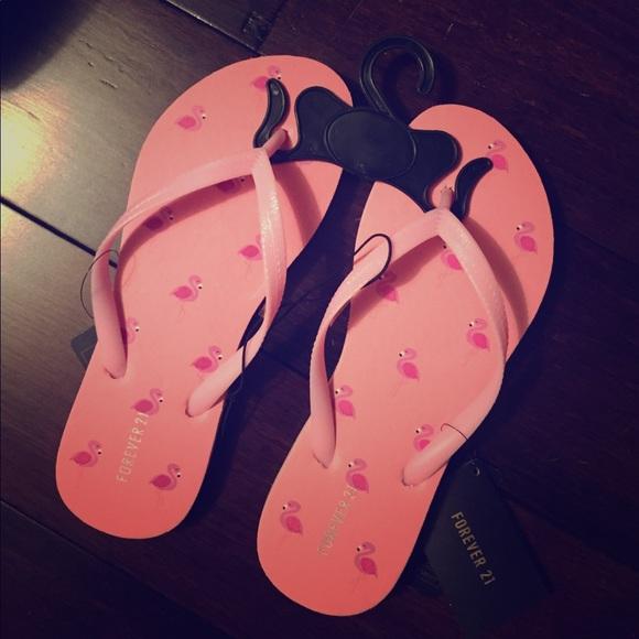 Flamingo Flip Flops Nwt