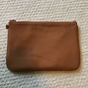 thirty one Handbags - Thirty One Brown Leather Clutch