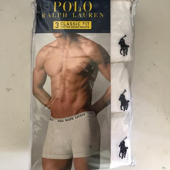 S 3 White Ralph Pk Lauren Polo Nwt Boxer Briefs 2xl v8mNOn0wy