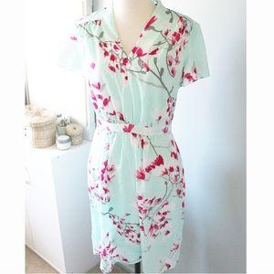Alex Marie / Cherry Blossom Mint Retro Dress