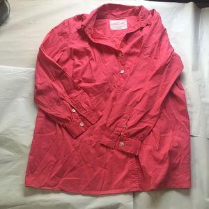 Avenue Tops - LAST CHANCE NWOT Pink Studio Button Down Shirt