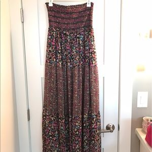 Rue21 Dresses & Skirts - Rue 21 Floral Strapless Maxi