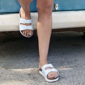 Muk Luks Shoes - •Muk Luks Double Strap Sandals•