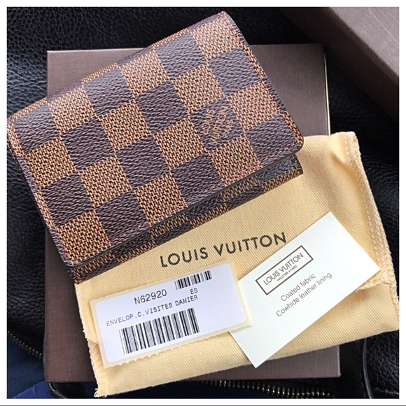 Business card holder lv image collections card design and card louis vuitton sold louis vuitton business card holder from m5915d71a8f0fc459ba065942 reheart image collections colourmoves